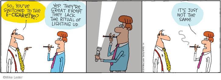 Comic Strip Mike Lester  Mike du Jour 2014-01-11 flash