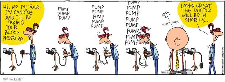 Comic Strip Mike Lester  Mike du Jour 2014-01-08 equipment