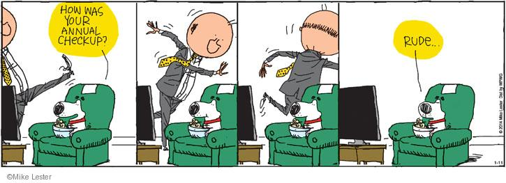 Comic Strip Mike Lester  Mike du Jour 2014-01-11 rude