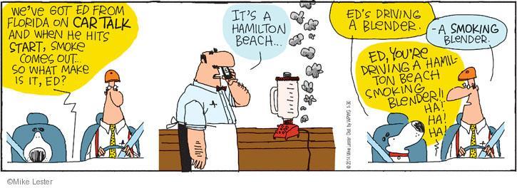 Cartoonist Mike Lester  Mike du Jour 2014-01-30 bartender
