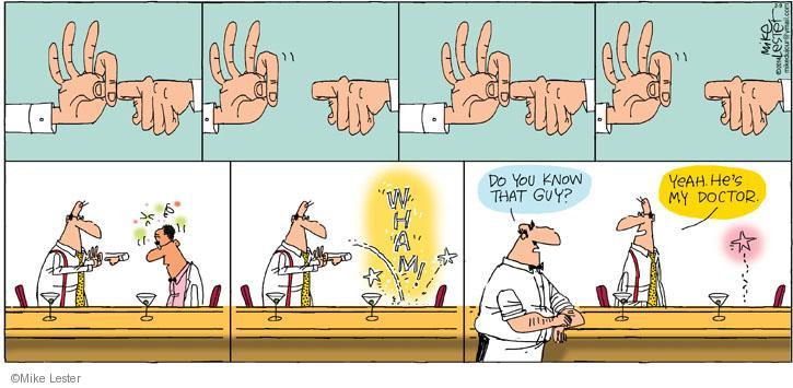 Cartoonist Mike Lester  Mike du Jour 2014-02-09 doctor
