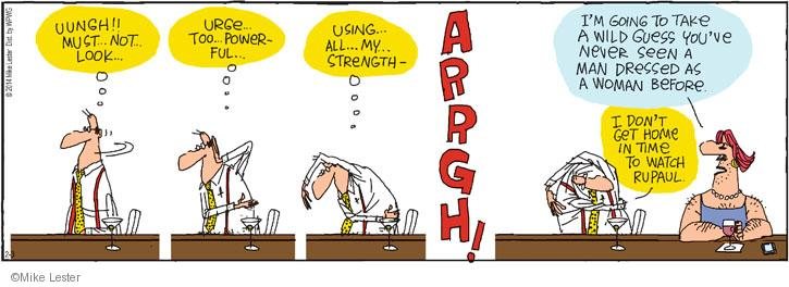 Cartoonist Mike Lester  Mike du Jour 2014-02-03 strength