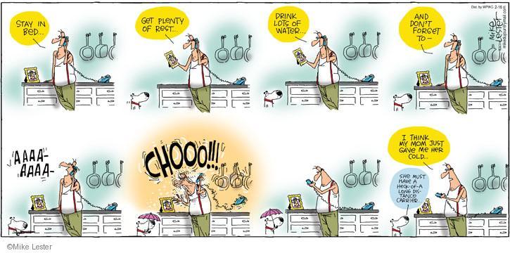 Comic Strip Mike Lester  Mike du Jour 2014-02-16 provider