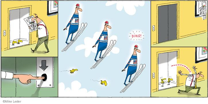 Comic Strip Mike Lester  Mike du Jour 2014-02-23 ding