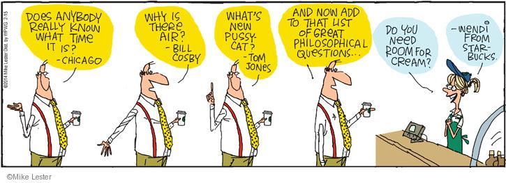 Comic Strip Mike Lester  Mike du Jour 2014-02-15 barista