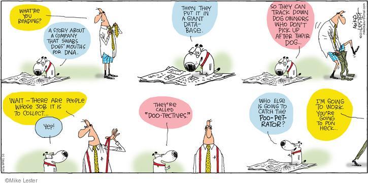 Cartoonist Mike Lester  Mike du Jour 2014-03-09 owner