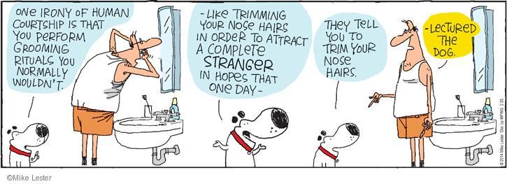 Cartoonist Mike Lester  Mike du Jour 2014-02-25 human