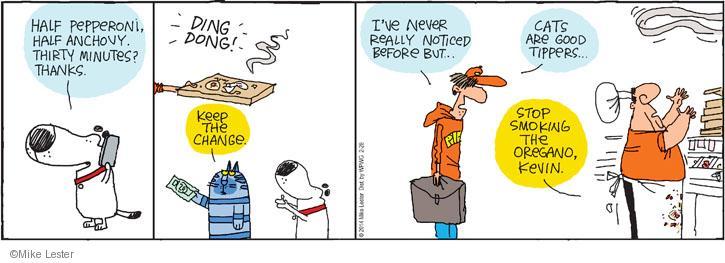 Cartoonist Mike Lester  Mike du Jour 2014-02-28 marijuana