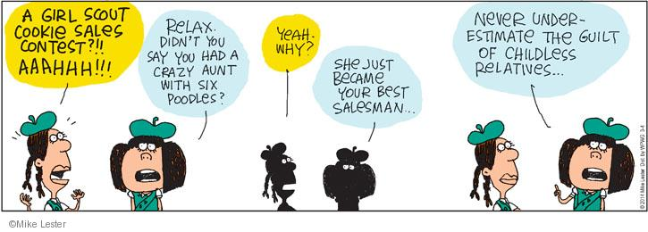 Comic Strip Mike Lester  Mike du Jour 2014-03-04 family