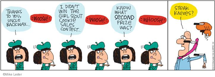 Comic Strip Mike Lester  Mike du Jour 2014-03-08 lose