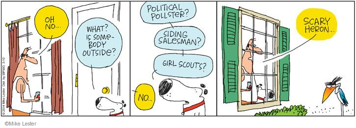 Comic Strip Mike Lester  Mike du Jour 2014-03-10 Girl Scout