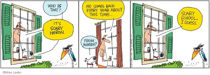 Comic Strip Mike Lester  Mike du Jour 2014-03-11 school
