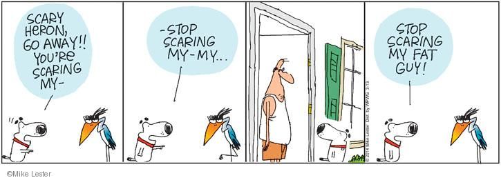 Cartoonist Mike Lester  Mike du Jour 2014-03-13 human