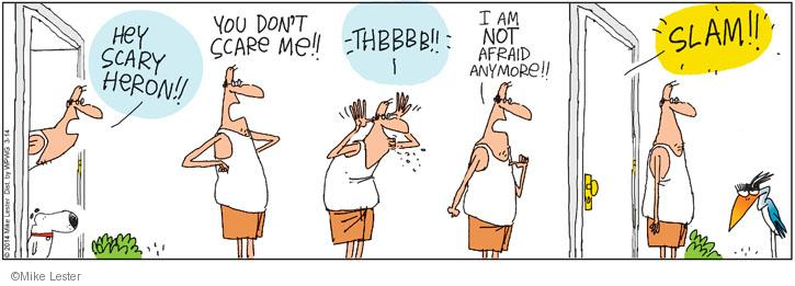 Comic Strip Mike Lester  Mike du Jour 2014-03-14 slam