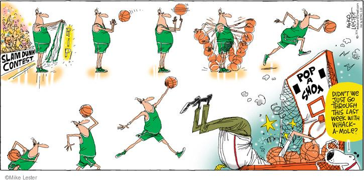 Comic Strip Mike Lester  Mike du Jour 2014-03-30 basketball