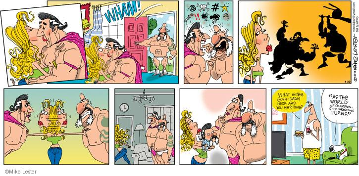 Comic Strip Mike Lester  Mike du Jour 2014-04-20 drama