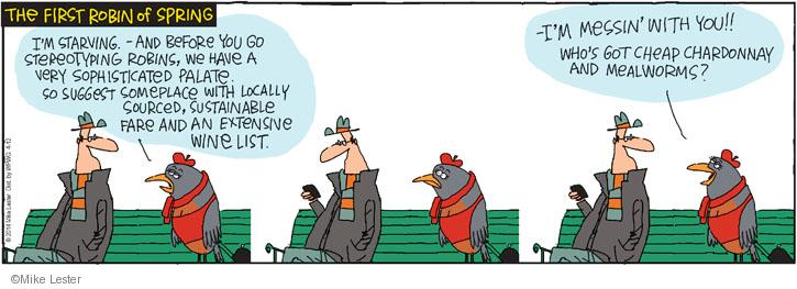 Cartoonist Mike Lester  Mike du Jour 2014-04-12 recommendation