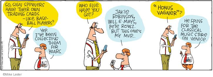 Comic Strip Mike Lester  Mike du Jour 2014-04-15 baseball