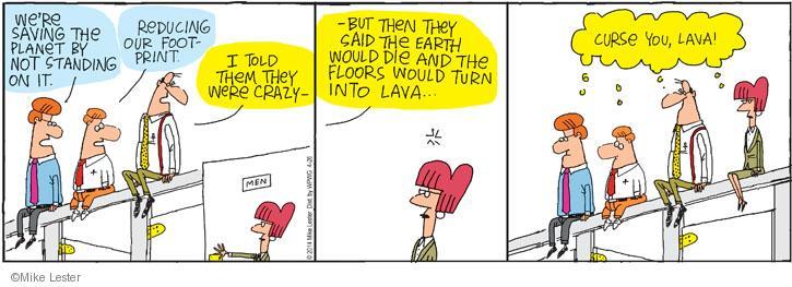 Cartoonist Mike Lester  Mike du Jour 2014-04-26 environmental