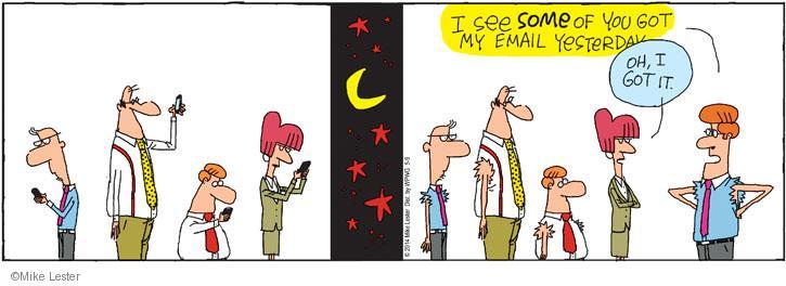 Comic Strip Mike Lester  Mike du Jour 2014-05-09 message