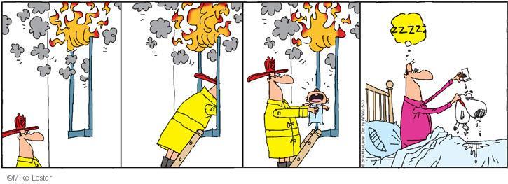 Cartoonist Mike Lester  Mike du Jour 2014-05-13 rescue