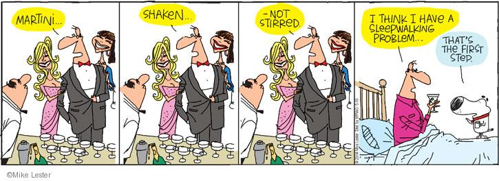 Comic Strip Mike Lester  Mike du Jour 2014-05-15 dreamer