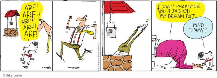 Comic Strip Mike Lester  Mike du Jour 2014-05-16 rescue
