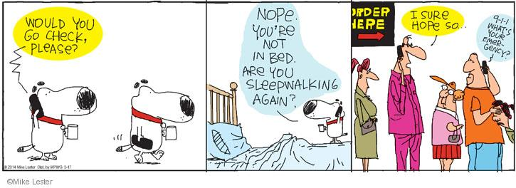 Comic Strip Mike Lester  Mike du Jour 2014-05-17 reality