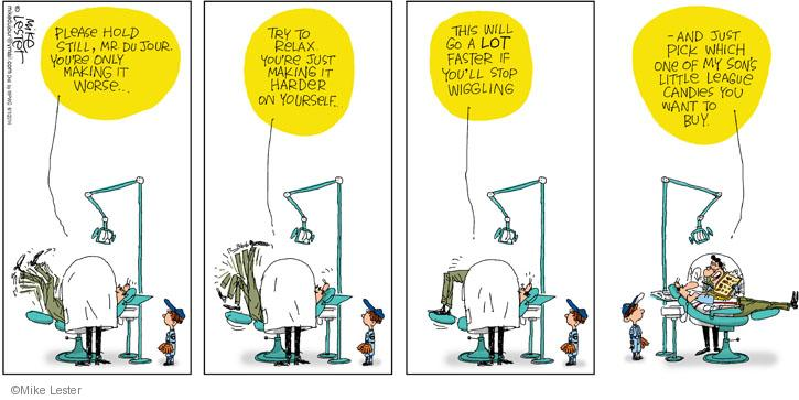Cartoonist Mike Lester  Mike du Jour 2014-06-01 patient