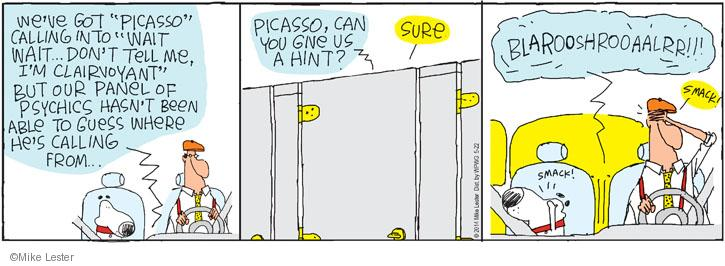 Comic Strip Mike Lester  Mike du Jour 2014-05-22 radio