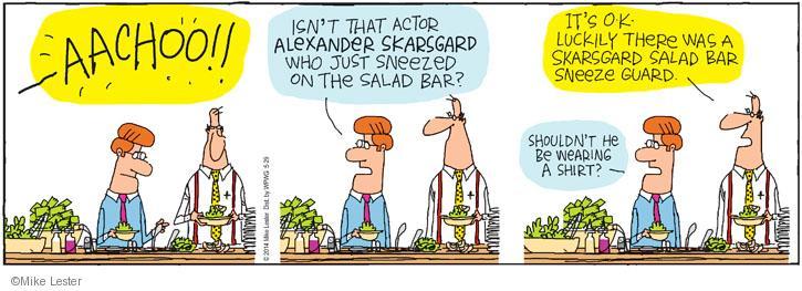 Comic Strip Mike Lester  Mike du Jour 2014-05-29 Alexander