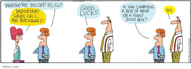 Cartoonist Mike Lester  Mike du Jour 2014-06-03 giant
