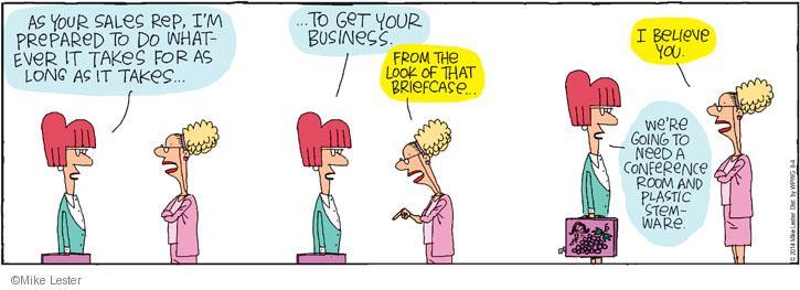 Comic Strip Mike Lester  Mike du Jour 2014-06-04 customer