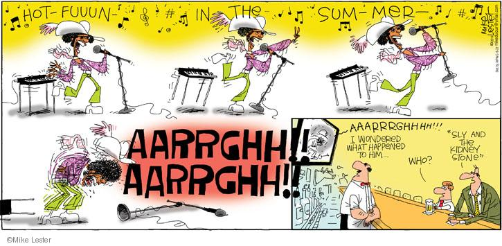Cartoonist Mike Lester  Mike du Jour 2014-06-22 family