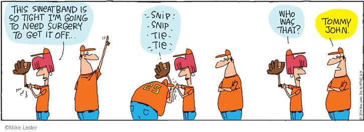 Cartoonist Mike Lester  Mike du Jour 2014-06-21 tight