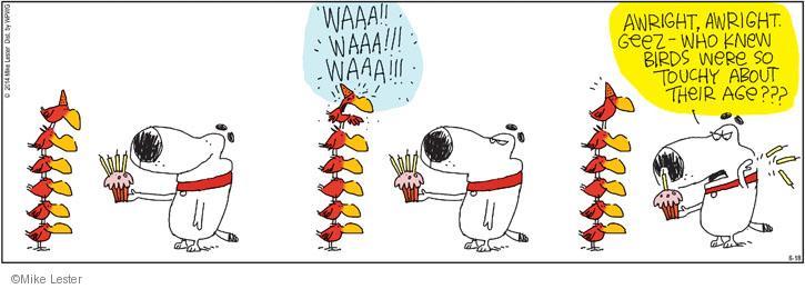 Cartoonist Mike Lester  Mike du Jour 2014-06-18 remove