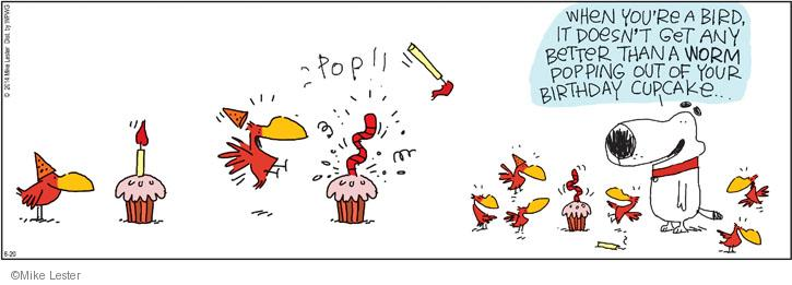 Comic Strip Mike Lester  Mike du Jour 2014-06-20 birthday