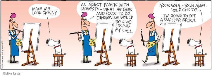 Comic Strip Mike Lester  Mike du Jour 2014-06-25 honest