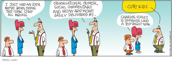 Cartoonist Mike Lester  Mike du Jour 2014-06-30 humor