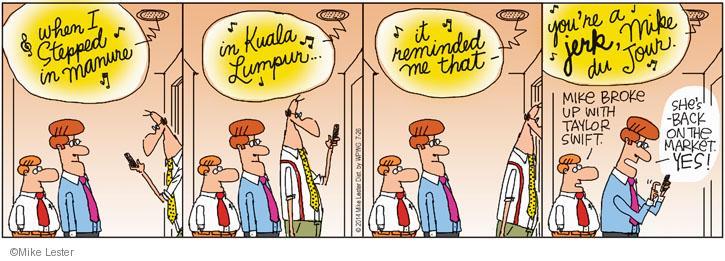 Cartoonist Mike Lester  Mike du Jour 2014-07-26 musician