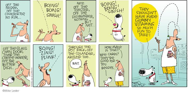 Cartoonist Mike Lester  Mike du Jour 2014-08-10 butter