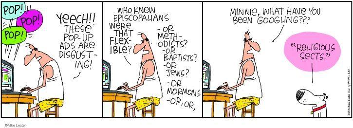 Comic Strip Mike Lester  Mike du Jour 2014-08-12 result