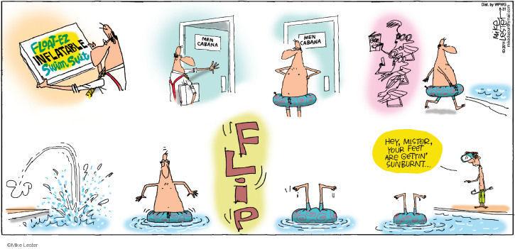 Cartoonist Mike Lester  Mike du Jour 2014-08-31 device