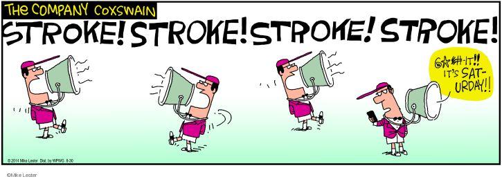 Comic Strip Mike Lester  Mike du Jour 2014-08-30 steer