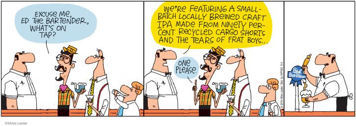 Cartoonist Mike Lester  Mike du Jour 2014-09-04 ingredient