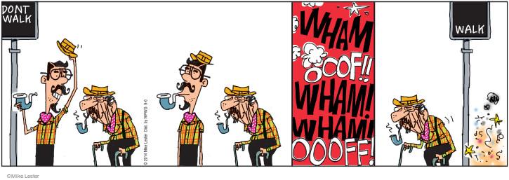 Comic Strip Mike Lester  Mike du Jour 2014-09-06 senior