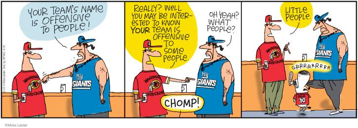 Cartoonist Mike Lester  Mike du Jour 2014-09-19 giant