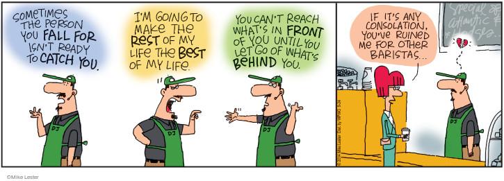 Cartoonist Mike Lester  Mike du Jour 2014-09-24 isn't