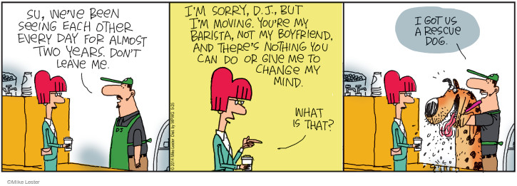 Comic Strip Mike Lester  Mike du Jour 2014-09-25 regular