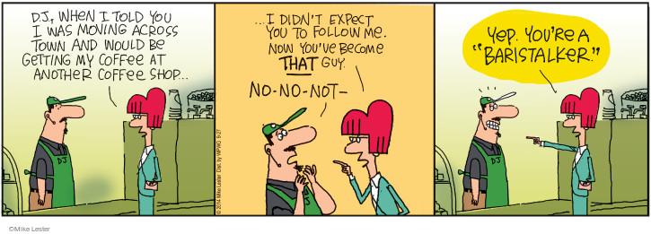 Comic Strip Mike Lester  Mike du Jour 2014-09-27 stalk